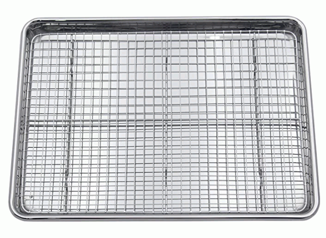 Checkered Chef Sheet and Rack Set