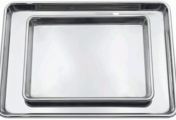 Checkered Chef Stainless Steel Baking