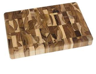 Lipper International Teak Wood Cutting Board