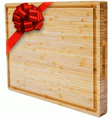 Mohy Premium Extra Large Bamboo Cutting Board