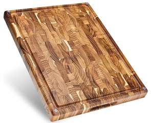 Sonder Los Angeles Large End Grain Walnut Cutting Board