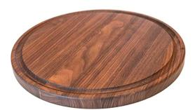 Round Wood Cutting Board by Virginia Boys Kitchens