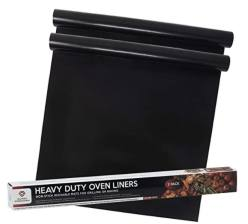 2 Pack of Nonstick Oven Liners for Electric Oven