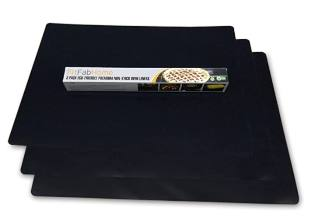 FitFabHome 3 Pack Large Non-Stick Oven Liners