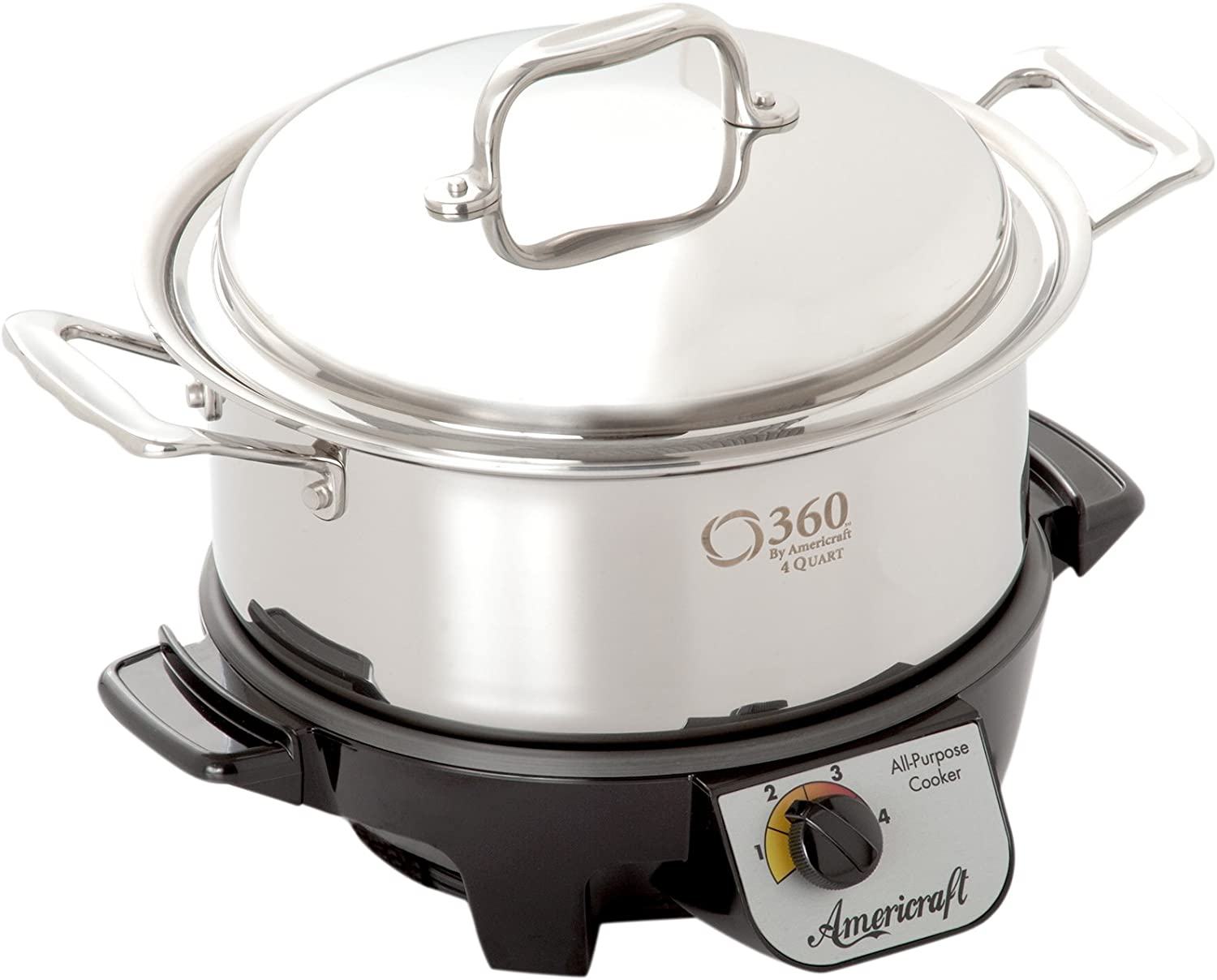 360 Stainless Steel Slow Cooker